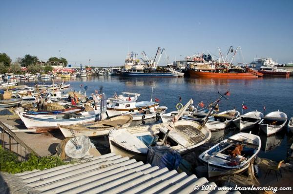 Tekirdağ's Harbour