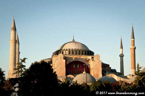 Hagia Sophia was previously a Chruch, the a mosque and now it is a museum