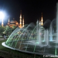 Sultan Ahmed Mosque at night