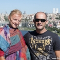 Tina and Yasin, our first host in Istambul