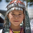 Amazing Turkmen little girl
