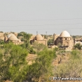 A village in the desert