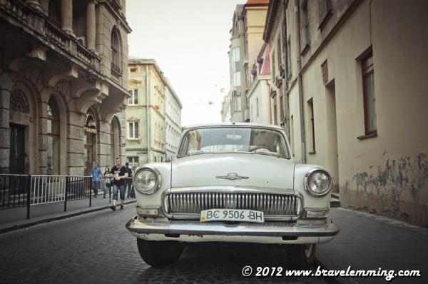 Street Scene in Lviv