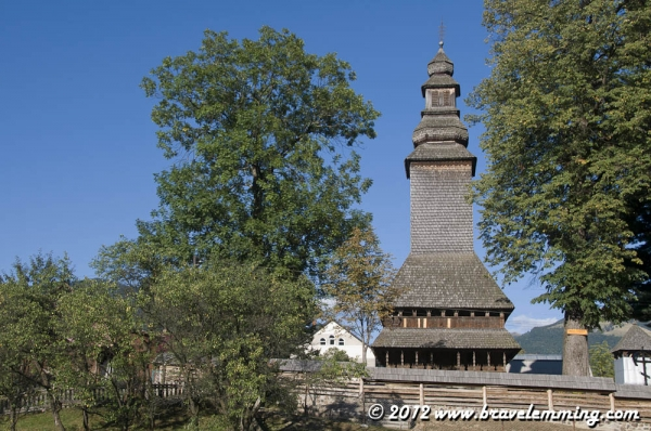 Traditional wooden church of the Carpathians