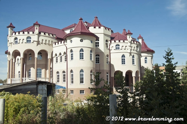 Some people need to compensate something and they build very big houses for themselves...