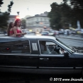 Techno music and girls in a limo... another side of Ukraine