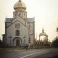 Orthodox church on the way to Truskavets