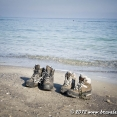 Shoes' break on a beach ;-)