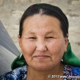 Portrait of an Uzbek woman
