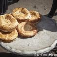 Uzbek bread in Samarkan's market