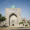 A small mosque in Samarkand