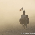 Cycling in the dust