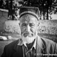 Old man in a village