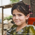 A cute Uzbek girl