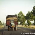 Tractors always have 3 wheels in Uzbekistan